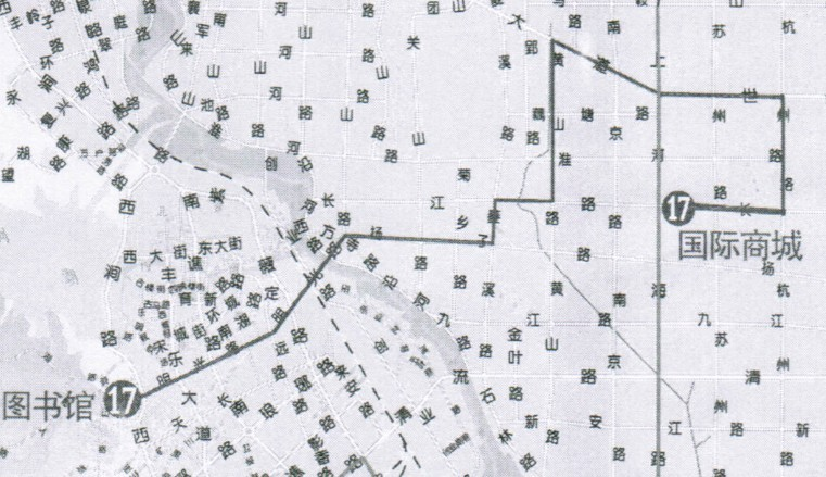 想知道17路公交情况的进 高清路线图已上 E滁州 bbs.0550.com
