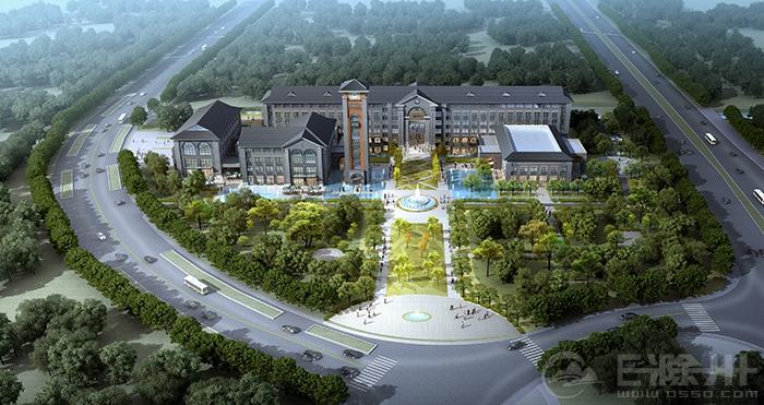 更上一层楼 汊河新区来安产业新城产城建设如火如荼