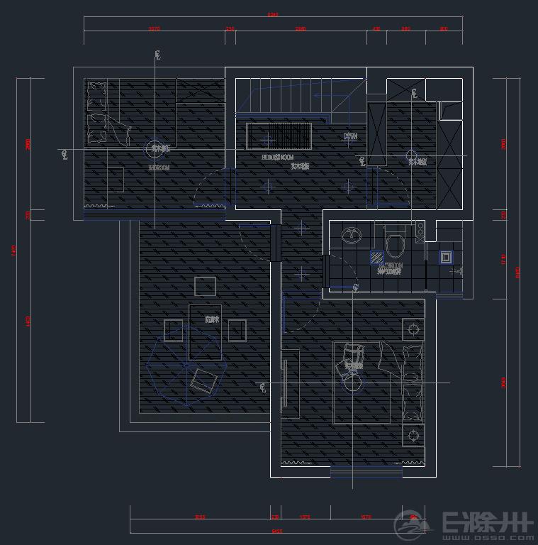 二楼布局图