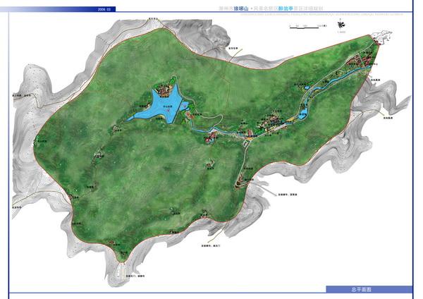 琅琊山风景区的核心景区(醉翁亭景区)详细规划说明