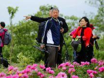 珠龙镇芍药园、蓝莓园采风