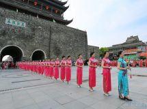 六月荷裳  彩凤飞阳  滁州市旗袍会第三届大型艺术秀纪实
