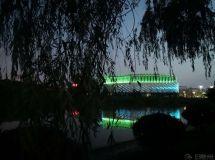 滁州市图书馆新馆夜景一瞥